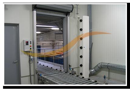 Sécheur d'adsorption entrepôt frigorifique Agristo