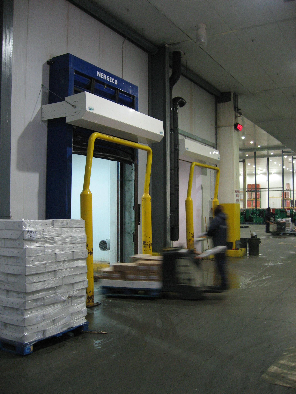 IGLO Porte d'air solution Spar Afrique du Sud